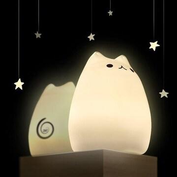 数量限定!★新品 激安 かわいい猫ランプ 24時間灯いてます