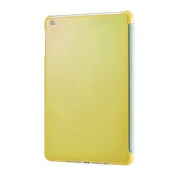 人気急上昇!iPad用 スマートバックカバー イエロー