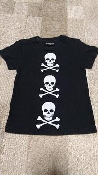 CHUBBYGANG チャビーギャングスカル柄半袖Tシャツ
