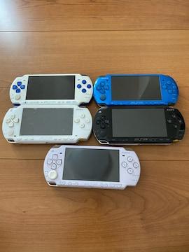 SONY PSP本体 ジャンク品5台まとめ売り 1円スタート