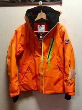 39  MIZUNO スキーウエアー上下  オレンジ フェザー 超美品♪
