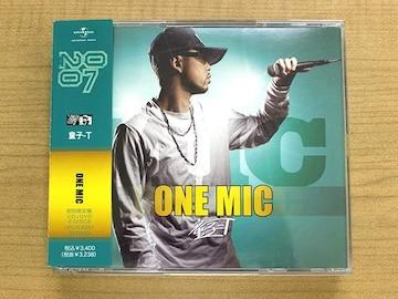 童子-T CD「ONE MIC」DVD付初回限定盤●