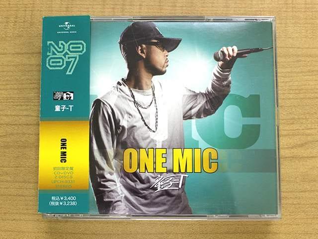 童子-T CD「ONE MIC」DVD付初回限定盤●    < タレントグッズの