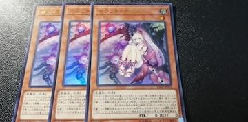 ラスト1!!3枚セット遊戯王VJ非売品[カクリヨノチザクラ]