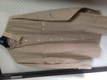 パパス🌟チェック柄長袖シャツ
