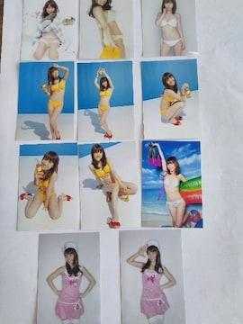 新品☆元AKB48大島優子ちゃんL版写真11枚