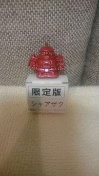 貴重!当時モノ SDガンダム 限定版 シャアザク 鉄製品 1989 日本製