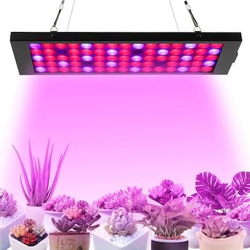 植物育成ライト led育苗ライト 40W 75個LED電球 育苗ライト