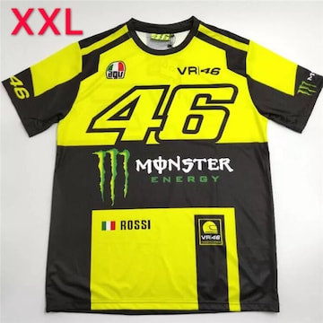 MONSTER VR46 ロッシ ドライTシャツ XXLサイズ