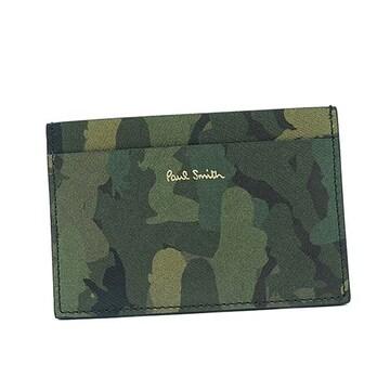 ◆新品本物◆ポールスミス ANLCAM カードケース(GR)『M1A-4768』◆