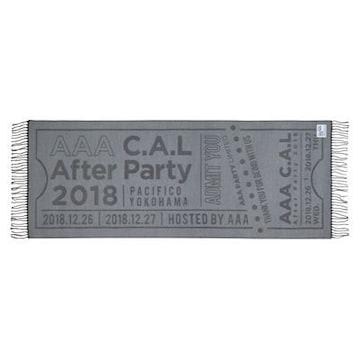 AAA C.A.L After Party 2018●ストール●CAL●新品