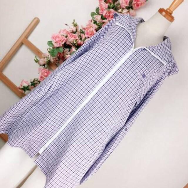 GH236*4L 大きいサイズ UV綿100% サッカー素材パーカー  < 女性ファッションの