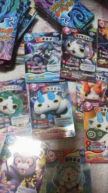 妖怪ウォッチカード126枚まとめ売り < アニメ/コミック/キャラクターの