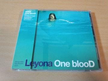 玲葉奈CD「One blooD」Leyonaレヨナ 仲井戸麗市 KYON●