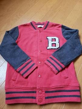 ☆USED☆ベリーズベリー☆スエットジャケット☆120
