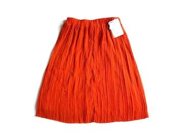 新品 定価2380円 アベイル シフォン プリーツ 膝丈 スカート