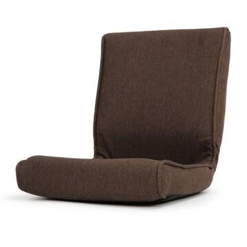 コンパクト こたつ 椅子 フロアーチェア ブラウン