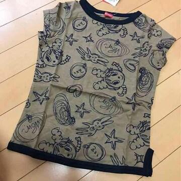 新品◆インナープレス◆フレンチスリーブTシャツ◆130