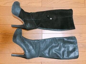 m�@ヴィヴィアンバイカラー ブーツ サイズ37