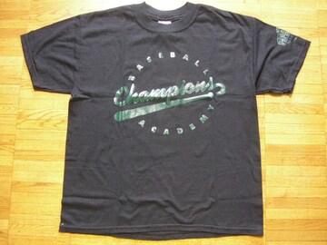 即決!USA古着●ロゴデザインTシャツ黒!ビンテージレア
