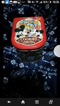 ディズニー缶★二個set★ドナルド ミッキー
