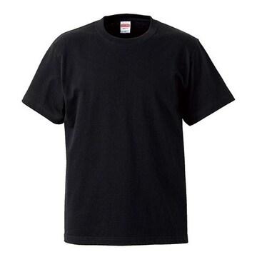 United Athle 5.6オンス ハイクオリティー Tシャツ ブラック M