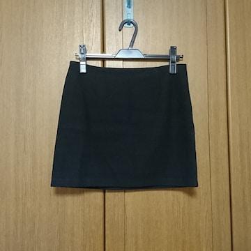 シンプルタイトミニスカート/黒/ブラック/Mサイズ