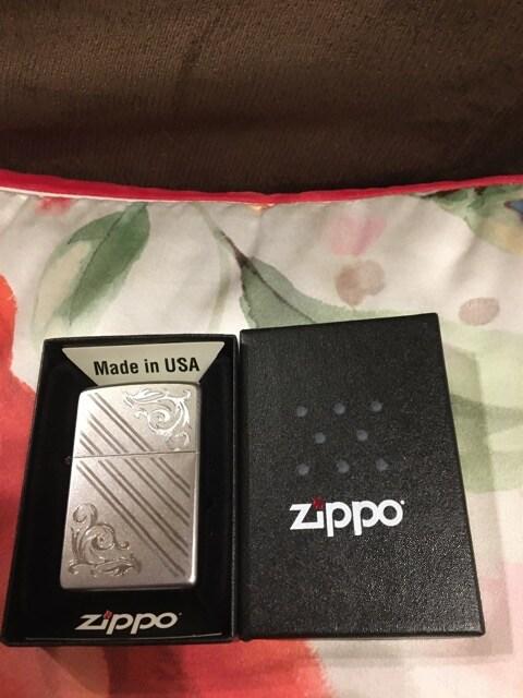 zippo オイルライター 箱入り 説明書付き 格安