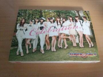 SUPER☆GiRLS CD「Celebration」DVD付初回生産限定盤●