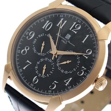 サルバトーレ マーラ クオーツ メンズ 腕時計  SM18107-PGBK
