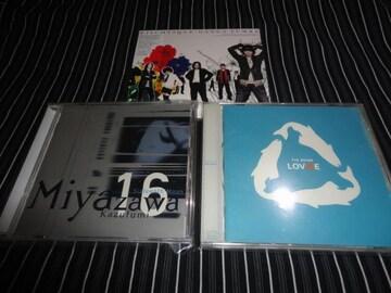 THE BOOM/宮沢和史/GANGA ZUMBA 美品/新品アルバム3枚セット
