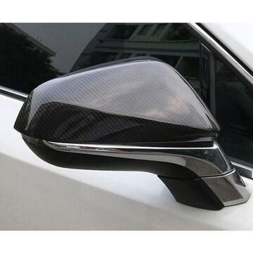 レクサス RX 20系 RX200 RX450 NX200t NX300H ブラックカーボンドアミラーカバー