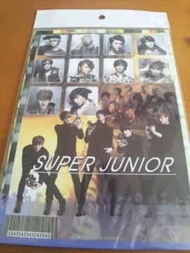 SUPER JUNIOR/スーパージュニア/ノート/新品&未開封/