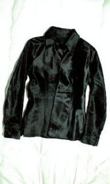 イサムカタヤマバックラッシュ 豪華総ハラコレザーシャツジャケット2