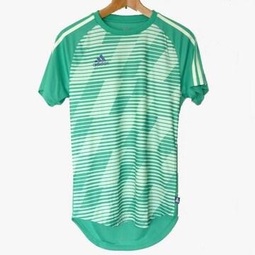 新品★送料無料◆adidas 緑TANGO CAGEプラクティスTシャツ(L)