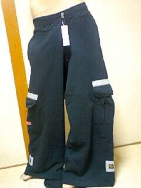 カッコイイ〜(σ>∀<)JD†超ワイドバギーカーゴスウェットパンツ < 女性ファッションの