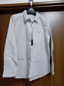 ジーナシス 襟ZIPシャツ 新品タグ付き