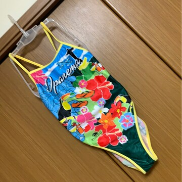 TURBO  レディース練習用ハイカット競泳水着 M
