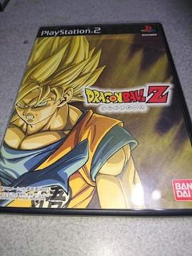 PS2!箱説あり!ドラゴンボールZ!ソフト!