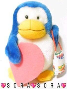 超キュート【ペンギン&バッグ】ぬいぐるみ