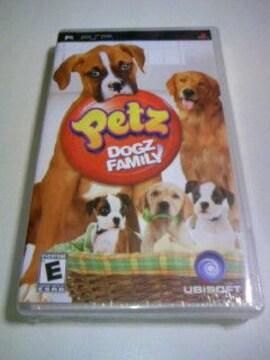 新品 PSP Petz DOGZ FAMILY 海外版/ペッツ ドッグズファミリーペット犬ゲーム