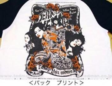 新品/ピークドイエロー/白黒/XS/PYT-134/エフ商会/テッドマン/カミナリ雷