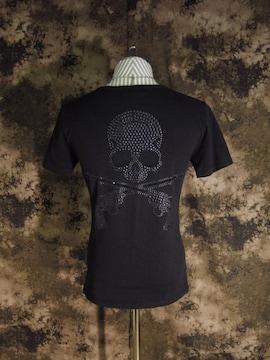 (定価54000)マスターマインド×roar・二丁拳銃スカルTシャツ