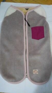 フリースボアジャケット ドッグウェア 7号 ベビーピンク