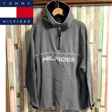 90's TOMMY HILFIGER プルオーバーパーカー