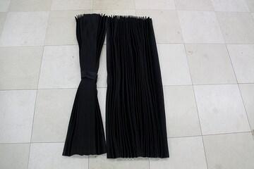 プリーツセンターカーテン|巾120�px丈100�p|2枚入り