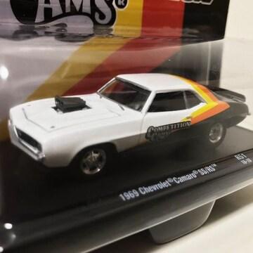 M2/'69 Chevyシボレー Camaroカマロ 1/64