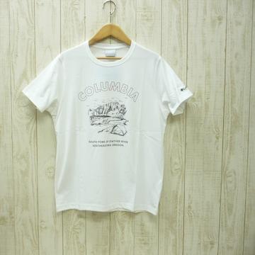 即決☆コロンビア特価オレゴンTシャツ WHT/XL 半袖 新品