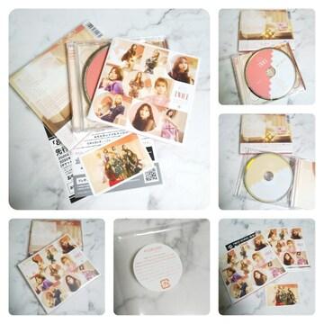 &TWICE [CD+DVD+歌詞ブックレット]<初回限定盤B>トレカ付き