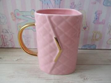 マトラッセ バッグ  マグ ピンク マグカップ Francfranc